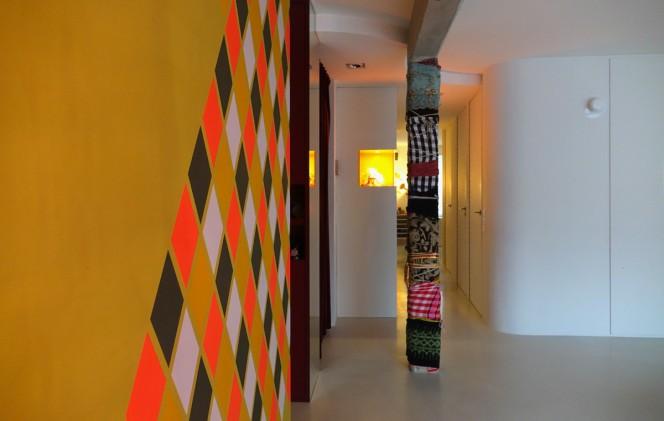 appartement roos interieur ontwerp betonnen werkblad inham nis loft